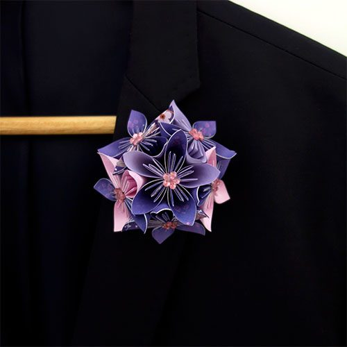 boutonnière costume