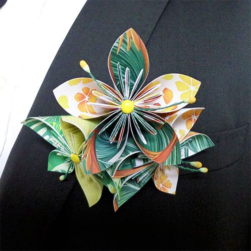 boutonnière mariage gay