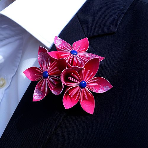 boutonniere mariage homme
