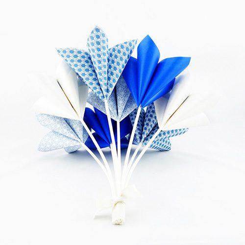 origami bouquet de fleur